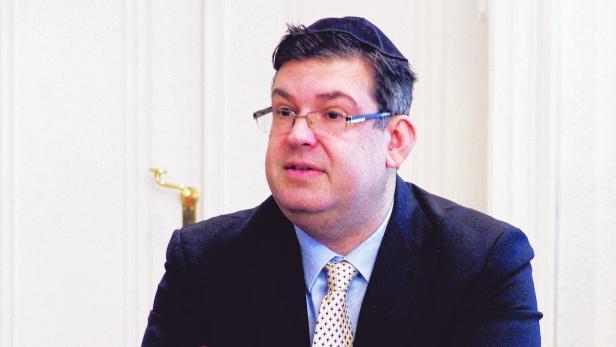 Oskar Deutsch, Präsident der Kultusgemeinde