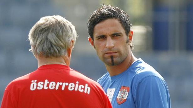 Austrian national team soccer goalkeeper Ramazan O