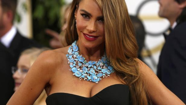 Actress Sofia Vergara arrives at the 71st annual G