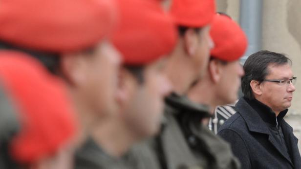 SPÖ-Verteidigungsminister Norbert Darabos