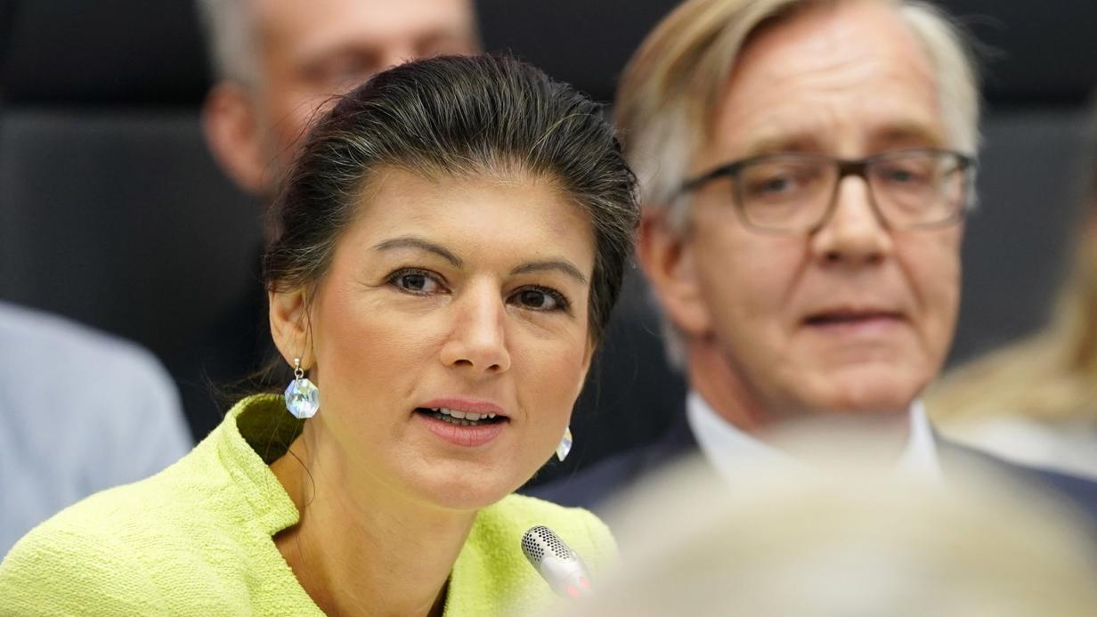Linke-Politikerin auf neuem Terrain: Sahra Wagenknecht im