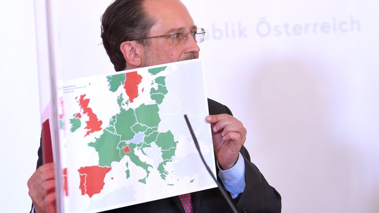 Reisefreiheit: Österreich öffnet ab Dienstag Grenzen zu 31 Ländern ...