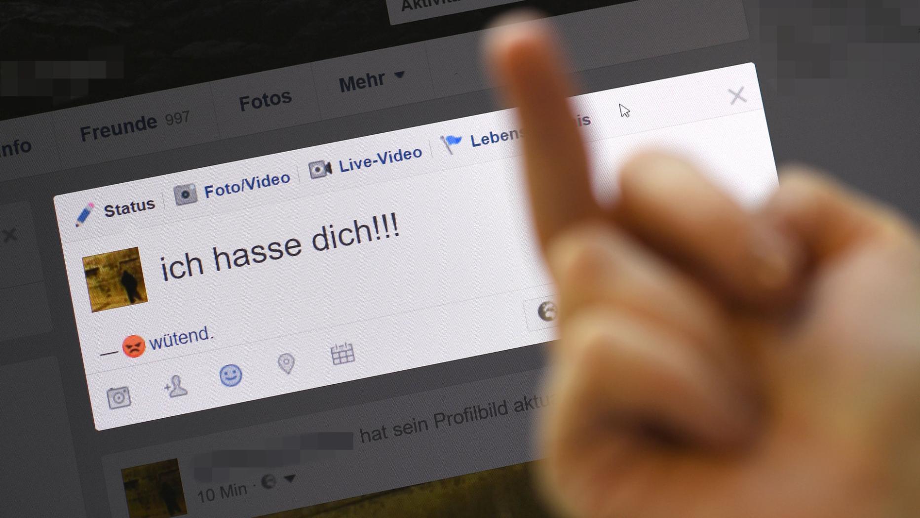 Hass im Netz richtet sich vor allem gegen Moslems und Flüchtlinge |  kurier.at