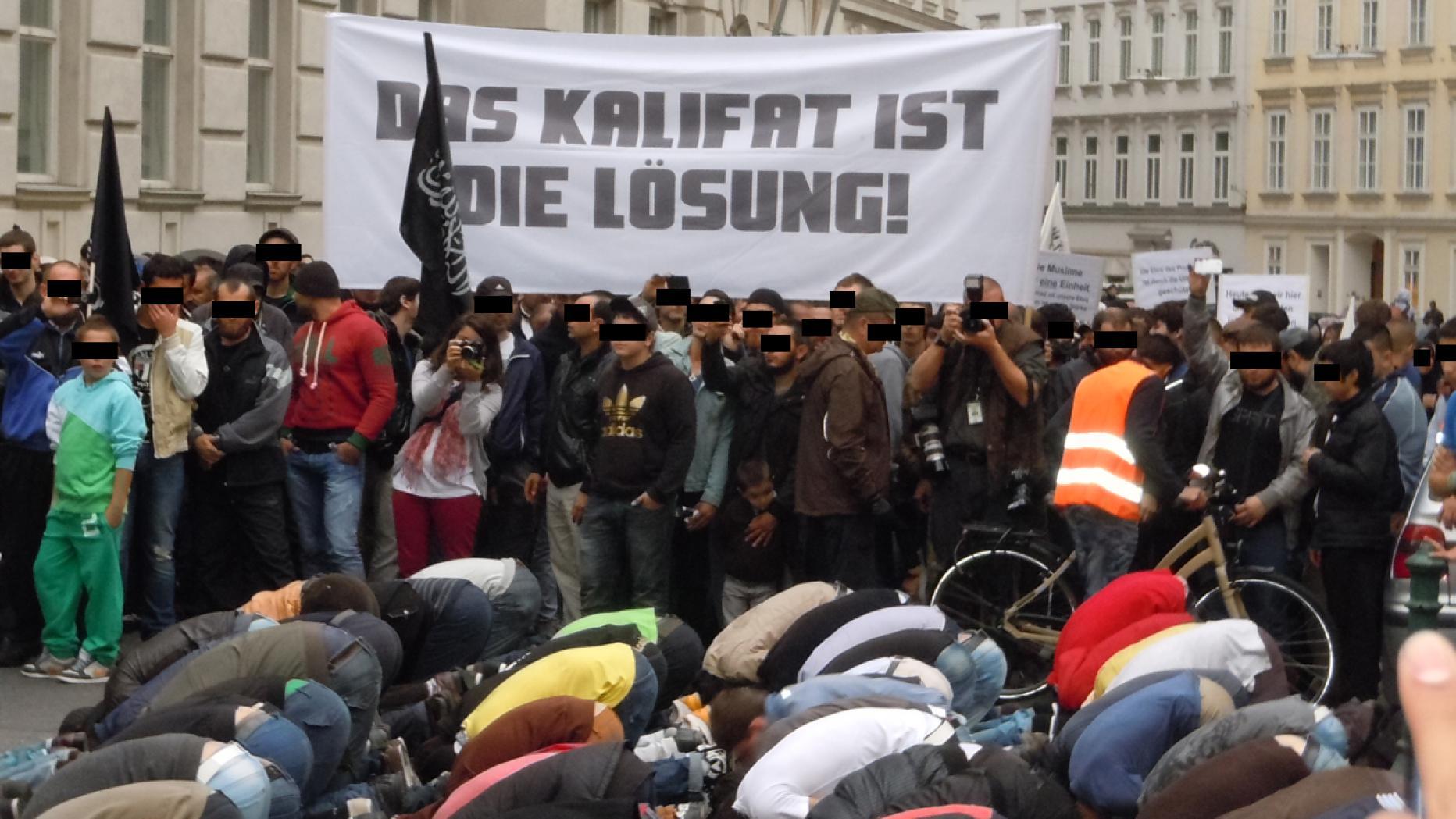 Bildergebnis für demonstration tschetschenen wien