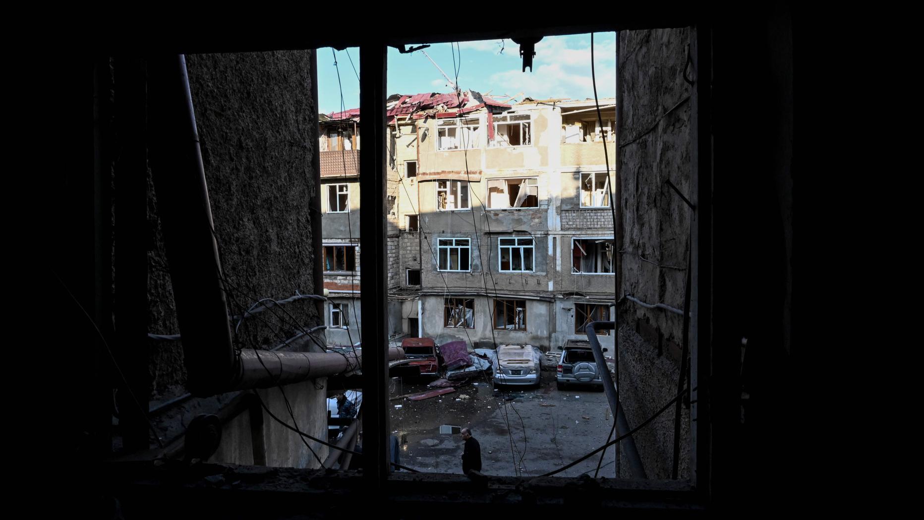 Hauptstadt Von Berg Karabach Mit Raketen Angegriffen Kurier At