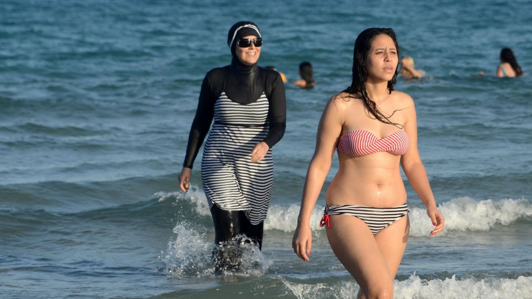 bikini ausziehen