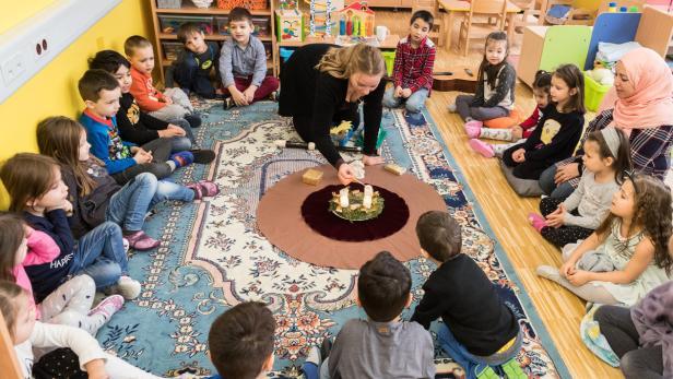 Kindergarten Weihnachten.Multikultureller Kindergarten Weihnachten Ist Pflicht
