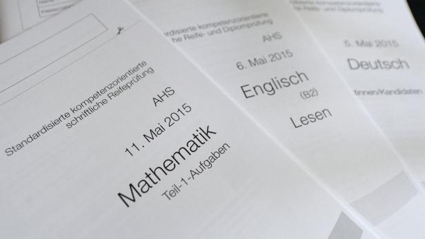 Die Aufgaben Der Zentralmatura In Mathematik Kurier At