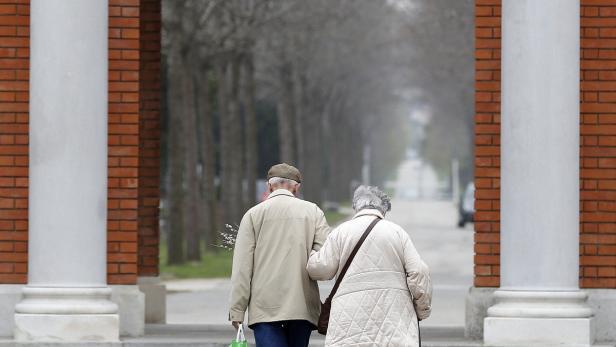 Zwei Pensionisten