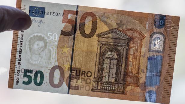 Ab Heute Ist Der Neue 50 Euro Schein Im Umlauf Kurier At