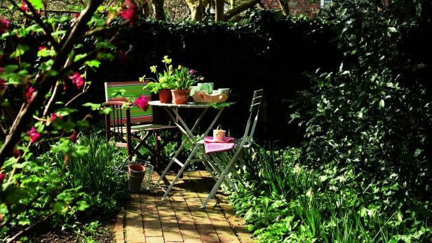 Auch Den Garten Kann Man Einrichten