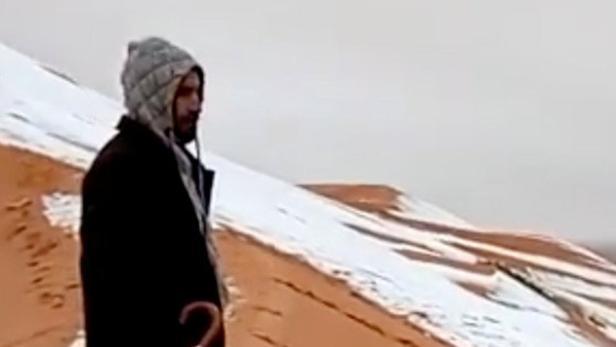 In Der Sahara Hat Es Geschneit Kurierat