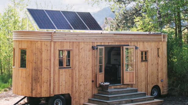 Wohntrend Mikrohauser Mit 30 Quadratmetern Kurier At