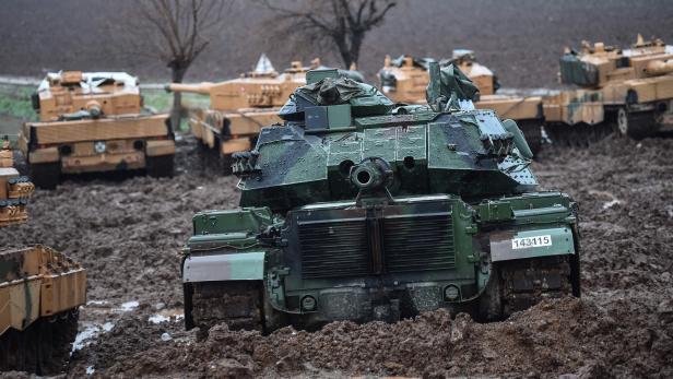 Deutsche Panzer In Syrien