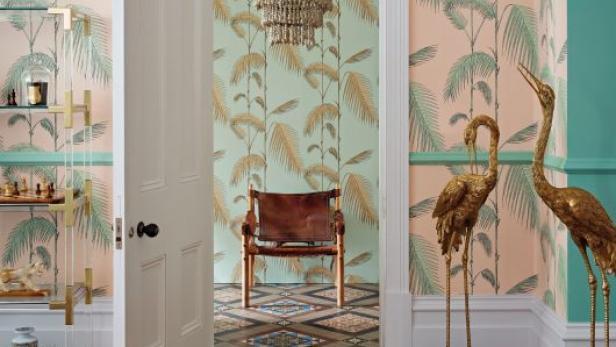 Tapeten Und Farbe: Leben Im Muster Mix