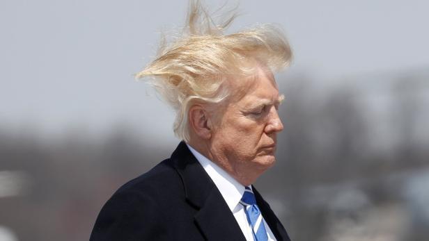 Donald Hat Die Haare Schon Trumps Frisur Sorgt Fur Erheiterung