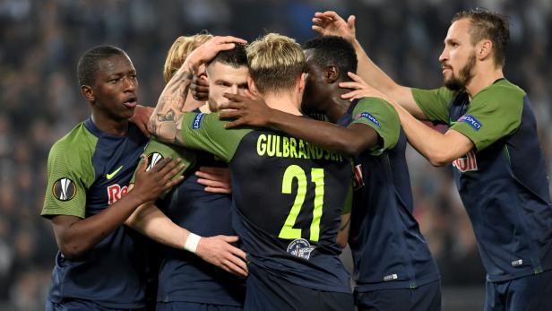 FUSSBALL EUROPA LEAGUE: LAZIO ROM - RED BULL SALZBURG