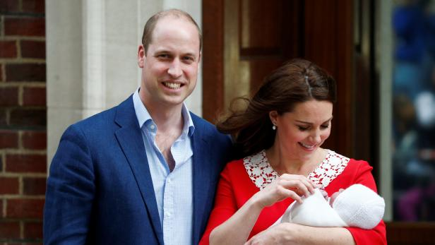 Kate Und William Zeigen Das Dritte Royal Baby Kurierat