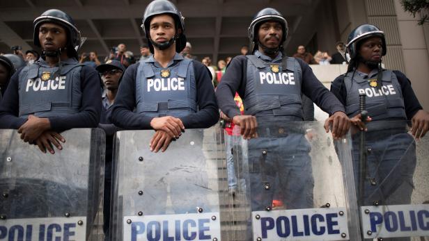 SAFRICA-LABOUR-POLITICS-PROTEST-STRIKE-UNIONS-SAFTU