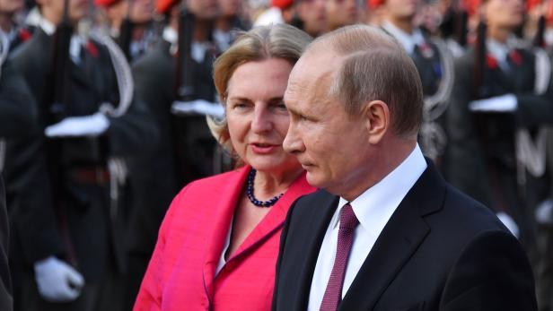 putin kommt am samstag zur hochzeit von karin kneissl - Putin Lebenslauf