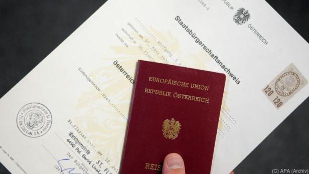 5.045 Personen erhielten die österreichische Staatsbürgerschaft