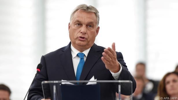 Orban zieht Ausschluss der Fidesz aus EVP in Erwägung