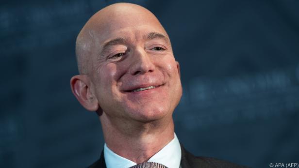 Bezos ist wahrscheinlich der reichste Mann der Welt