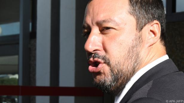 Italiens Innenminister Salvini nimmt höheres Defizit in Kauf
