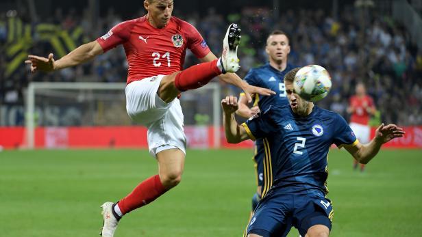 UEFA NATIONS LEAGUE: BOSNIEN-HERZEGOWINA - ÖSTERREICH