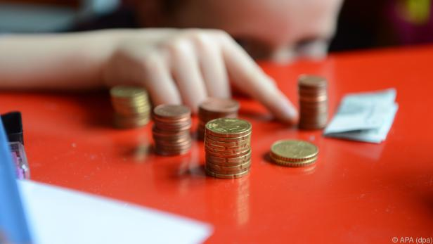 Viele Kinder sparen ihr Taschengeld