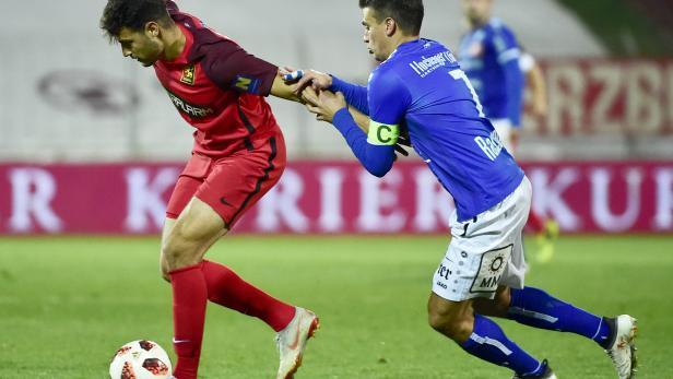 FUSSBALL TIPICO BUNDESLIGA / GRUNDDURCHGANG: FC FLYERALARM ADMIRA - TSV HARTBERG