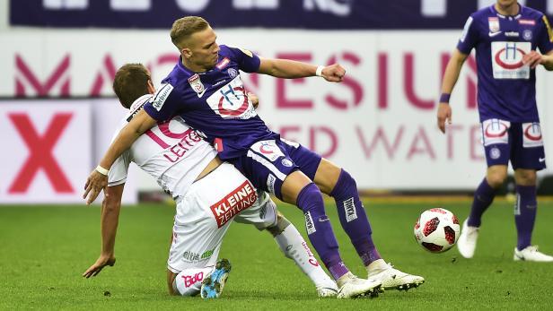 FUSSBALL TIPICO BUNDESLIGA / GRUNDDURCHGANG: FK AUSTRIA WIEN - RZ WAC