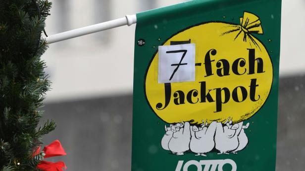 ++ THEMENBILD ++ LOTTO / JACKPOT / SIEBENFACH-JACKPOT