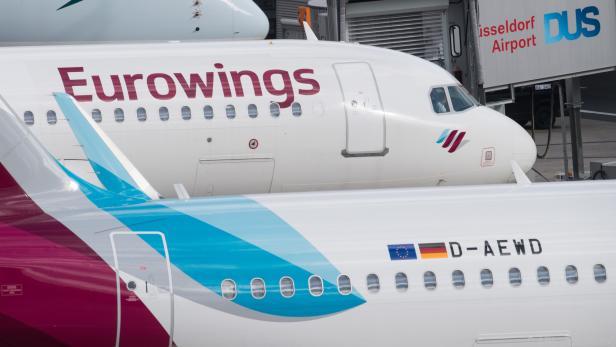Eurowings verurteilte den Aufruf zum Warnstreik