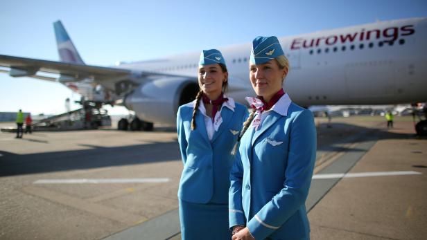 Erster Langstreckenflug von  Eurowings