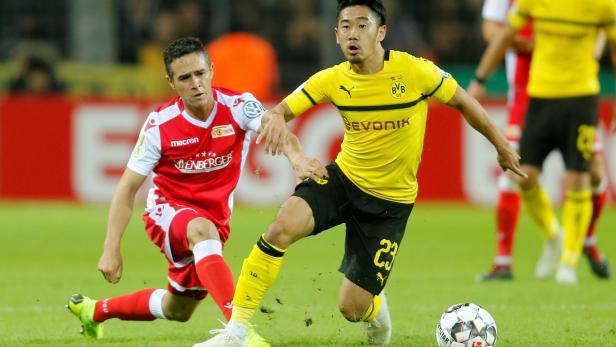 DFB Cup Second Round - Borussia Dortmund v Union Berlin