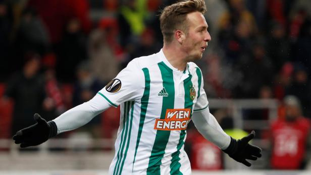 Europa League - Group Stage - Group G - Spartak Moscow v Rapid Vienna