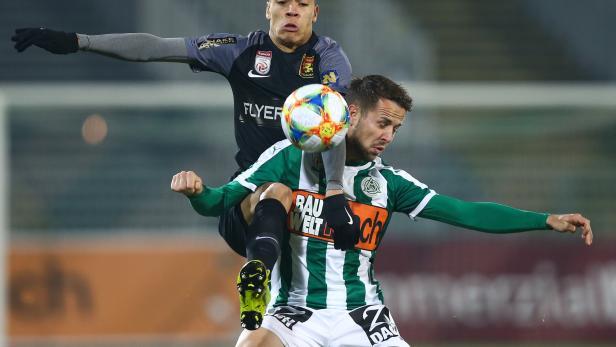 FUSSBALL: TIPICO-BUNDESLIGA / GRUNDDURCHGANG: SV MATTERSBURG - FC FLYERALARM ADMIRA