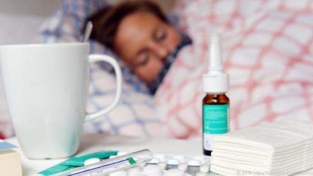Eine Grippe schlägt rasch und hart zu
