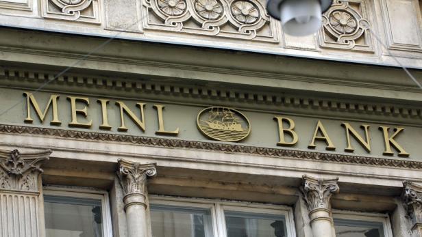 Firmensitz der Meinl Bank in der Wiener Innenstadt