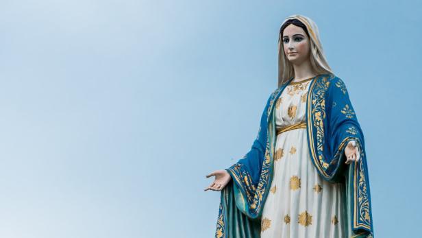 Papst Auf Twitter Jungfrau Maria War Erste Influencerin Kurierat