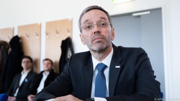 """Kickl will mit """"ausgewählten"""" Kollegen darüber sprechen"""