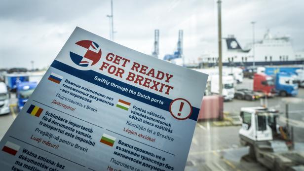 NETHERLANDS-BRITAIN-POLITICS-TRANSPORT-BREXIT-ECONOMY-TRADE