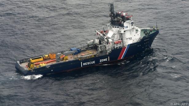 """Vor knapp einer Woche ist der Frachter """"Grande America"""" gesunken"""