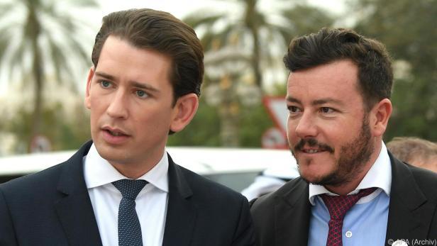 Kurz und Benko waren gemeinsam in Abu Dhabi