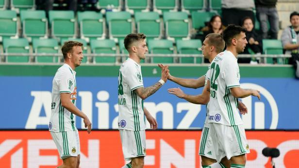 Fußball, SK Rapid Wien - Admira