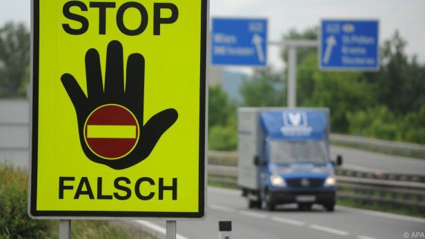 Der Geisterfahrer hatte sich auf dem Heimweg nach Slowenien verirrt