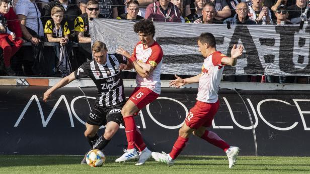 FUSSBALL: TIPICO-BUNDESLIGA / MEISTERRUNDE: LASK LINZ - RED BULL SALZBURG