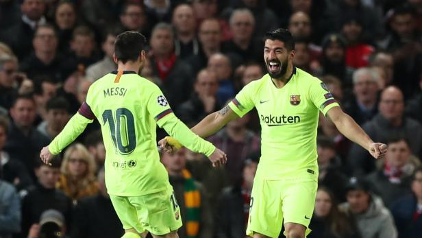Champions League Quarter Final First Leg - Manchester United v FC Barcelona