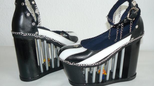 hot sale online 5d16f 322e1 Verrückte Schuhe: Wie Häftlinge aus Stein Designer werden ...